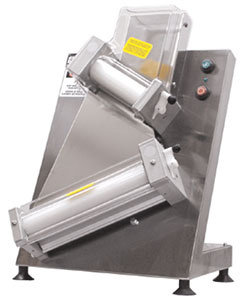 "DOYON COUNTERTOP 18"" DOUGH ROLLER SHEETER- TWO STAGE"