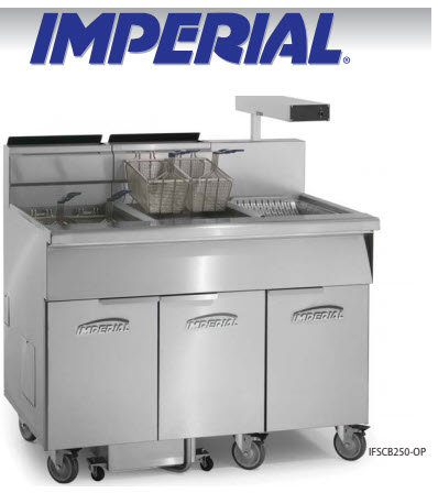 Imperial Deep Fryers - Used for 1 month - Save $7400- 1 year warranty