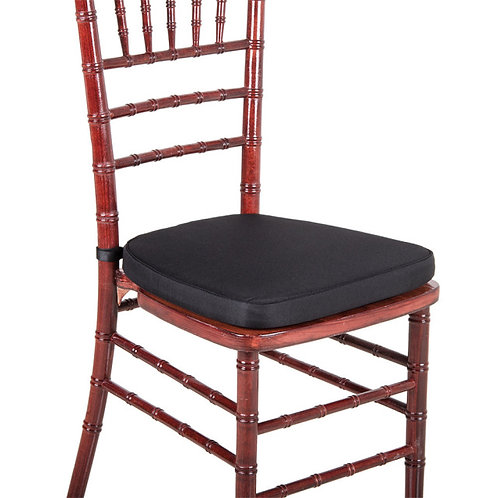 PADDED CUSHION SEATING FOR CHIAVARI CHAIRS  - 8 COLORS TO CHOOSE FROM