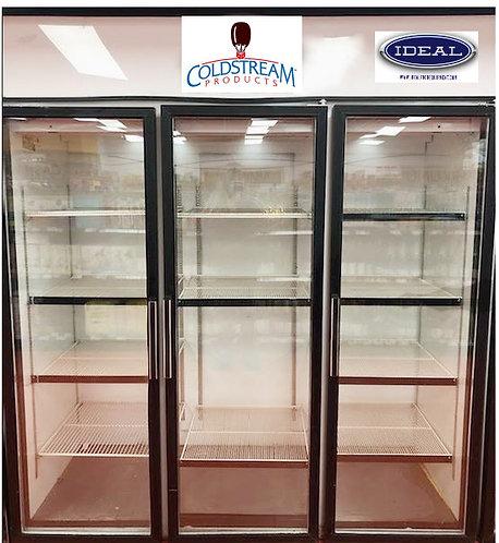3 glass door display refrigerators - Made in Canada