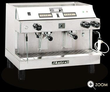 ASTRA MEGA 11 AUTOMATIC 2 GROUP ESPRESO MACHINE - 2 year parts warranty