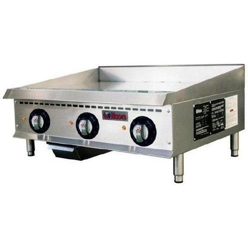 """Electric 36"""" Griddle - 208-240V, Single or Three Phase"""