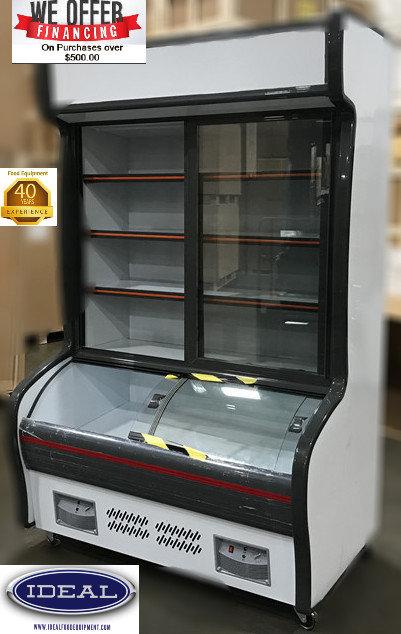 Combo top refrigerator - bottom freezer