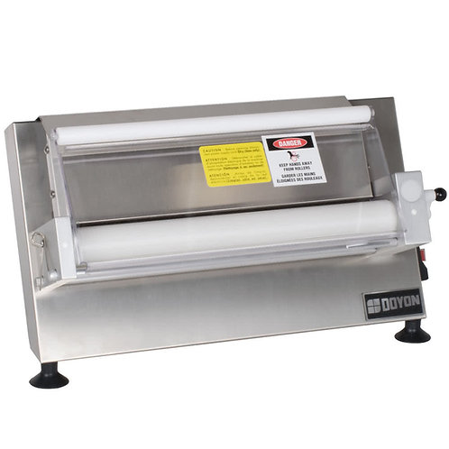 """Doyon DL18SP Countertop 18"""" Dough Roller Sheeter, 250 Pieces/Hour - One Stage, H"""