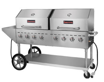 Commercial Mobile Outdoor Grill -