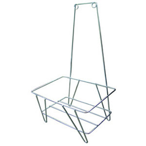 Grocery Market Shopping Basket Stand