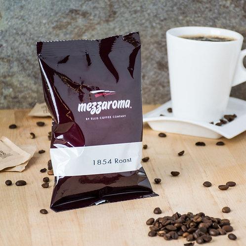Ellis Mezzaroma 1854 Roast Ground Coffee - (24) 2.5 oz. Packets / Case