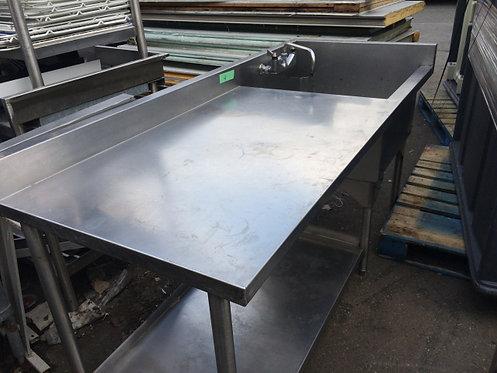Single Pot Sink - 6' unit