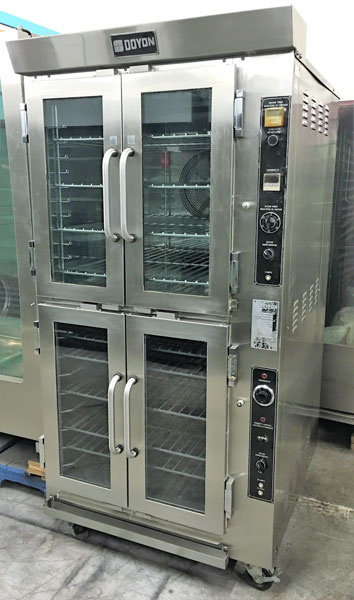 DOYON ELECTRIC BAKE OVEN AND PROOFER - HAS STEAM INJECTION