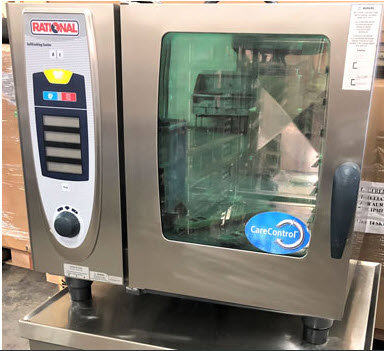 Rational Electric SCC61 Combi Oven