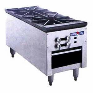 2 Burner Stock Pot Range - American Range