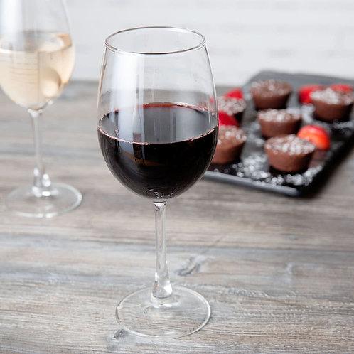 16.5 oz. Flora Wine Glass - 12/Case