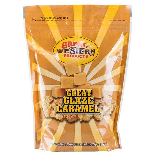 Great Western 17220 Frosted Caramel Popcorn Glaze 28 oz. Carton 12 / Case