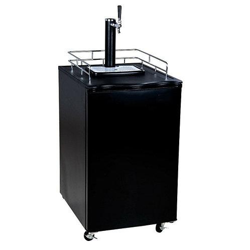 Black Kegerator (1) 1/2 Keg Capacity