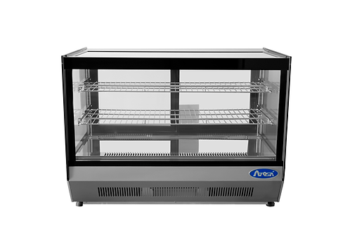 "27.6"" wide counter top square type display case"