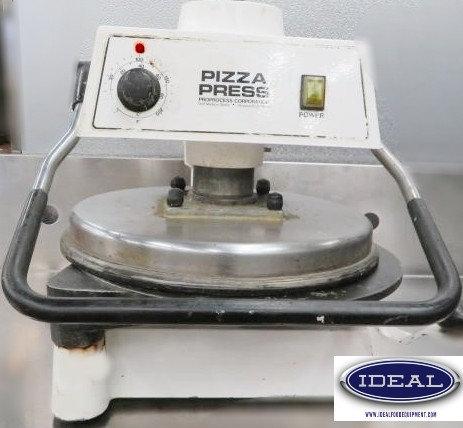 Dough Pro heated pizza press