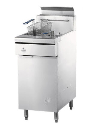 QUEST NATURAL OR PROPANE DEEP FRYER