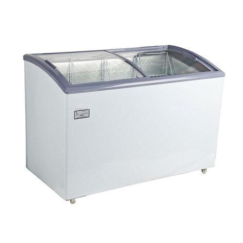Curved Lid Display Freezer - 11.6 Cu. Ft.