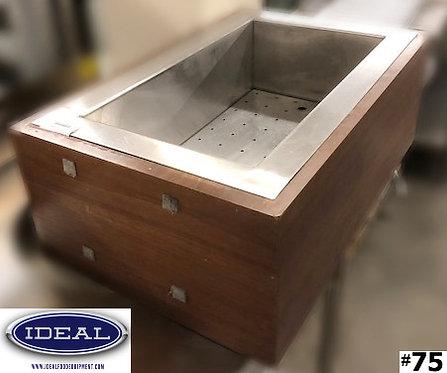 Custom drop in Insulated  Ice Well