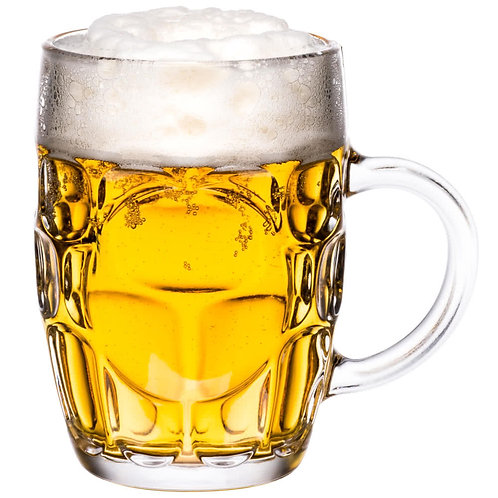 23 oz. Dimple Beer Mug - 12/Case