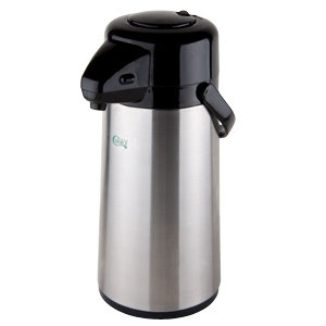 1.9 LITRE STAINLESS STEEL AIRPOT WITH PUSH BUTTON