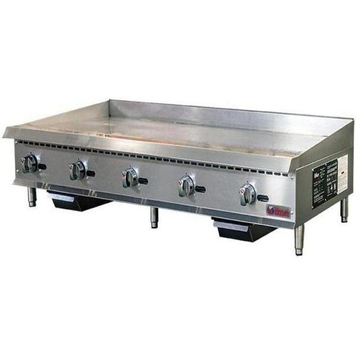 """Natural Gas/Propane 60"""" Griddle"""