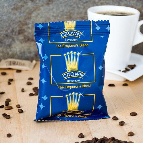 Crown Beverages Emperor's Blend Coffee - (80) 2 oz. Packets / Case