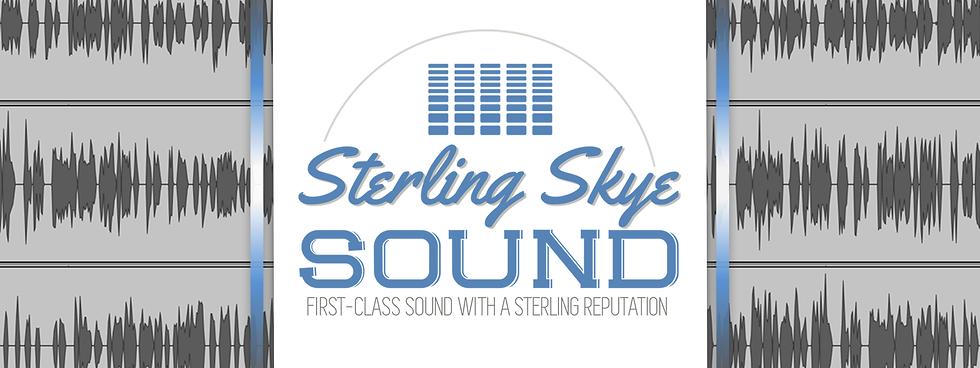Sterling Skye Sound Banner
