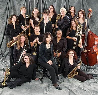 The Diva Jazz Orchestra - Group