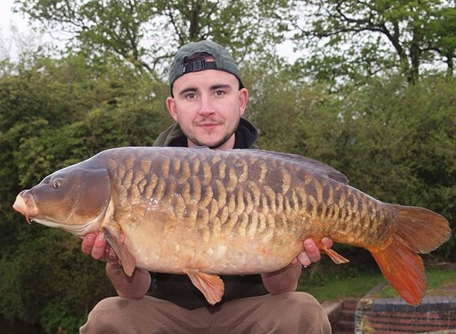 Consultant Adam Cooke with a 24lbs 8oz m