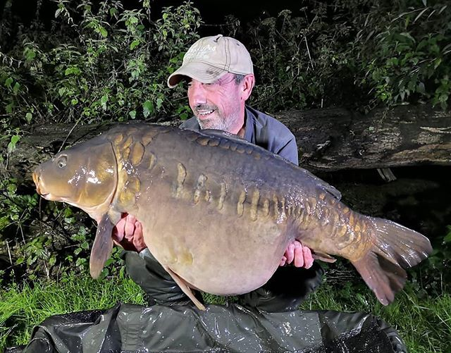 Consultant Phil Callaway with a 38lbs mi