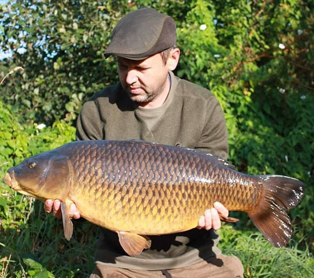 Consultant Rob Morris with a cracking co