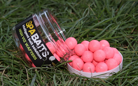 CHOCOLATE MALT - HIGH VIZ PINK WAFTERS
