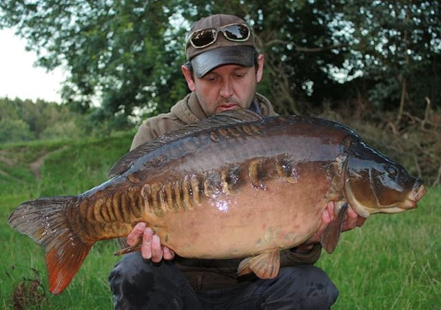 Consultant Rob Morris with a stunning mi