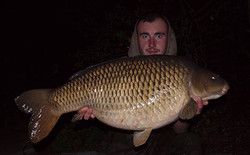 Consultant Adam Cooke with a 35lbs 4oz c