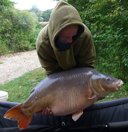 Keith Herbert with a cracking french mir