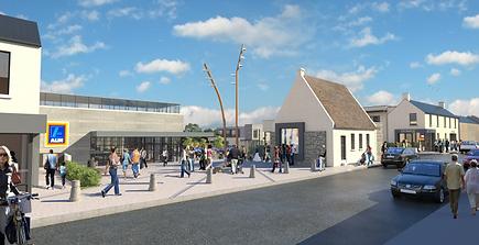 Main Street, Rush Redevelopment - Dublin