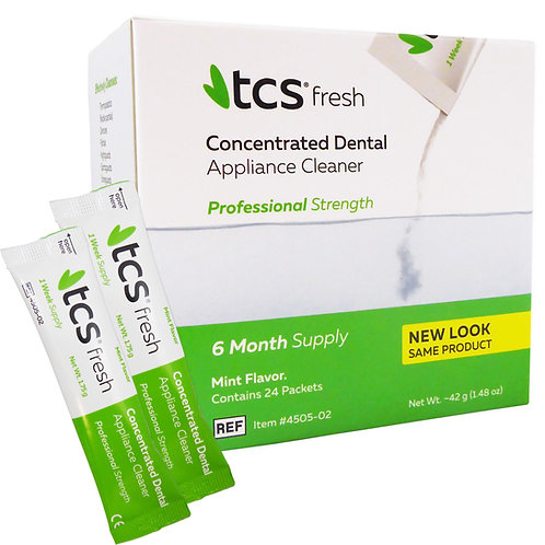TCS Professional Strength 6 month supply