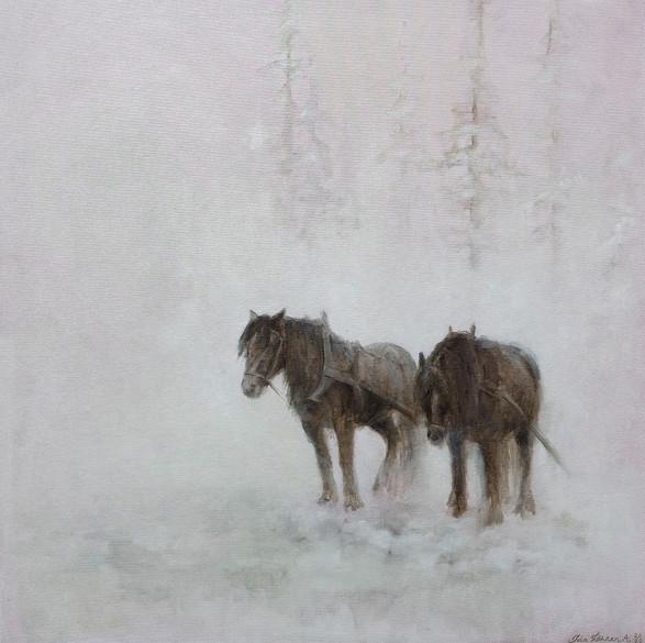 Hvilende hester