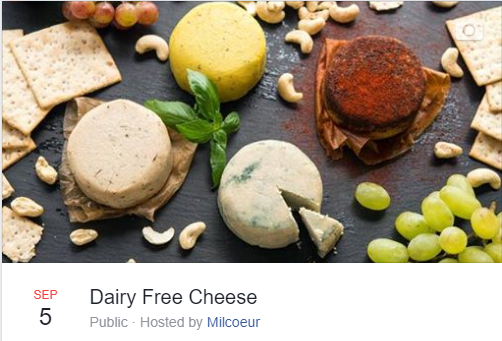 dairy free cheese class event facebook.P