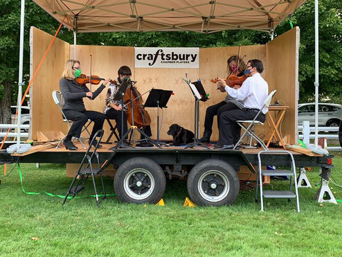 The Craftsbury Chamber Players - Sat, July 17 & Sat, 31 - 4pm