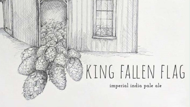 King Fallen Flag