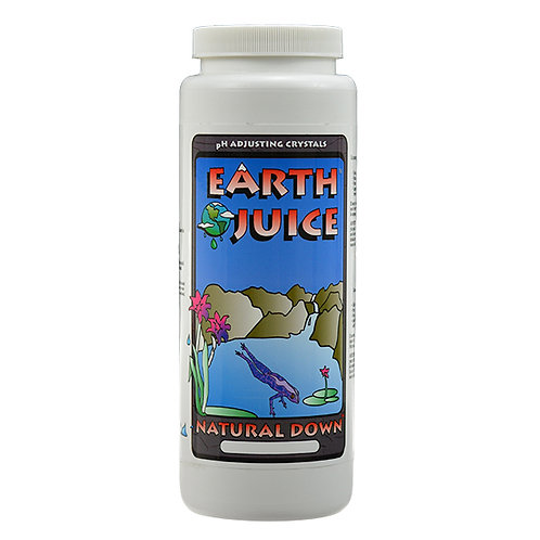 Earth Juice Natural pH down. Ph Adjusting Crystals. Organic