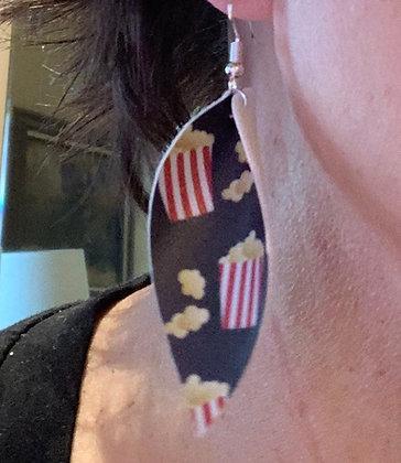 Popcorn Tear Drop Earrings