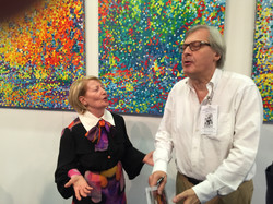 Semadar & Art Critic Vittorio Sgarbi