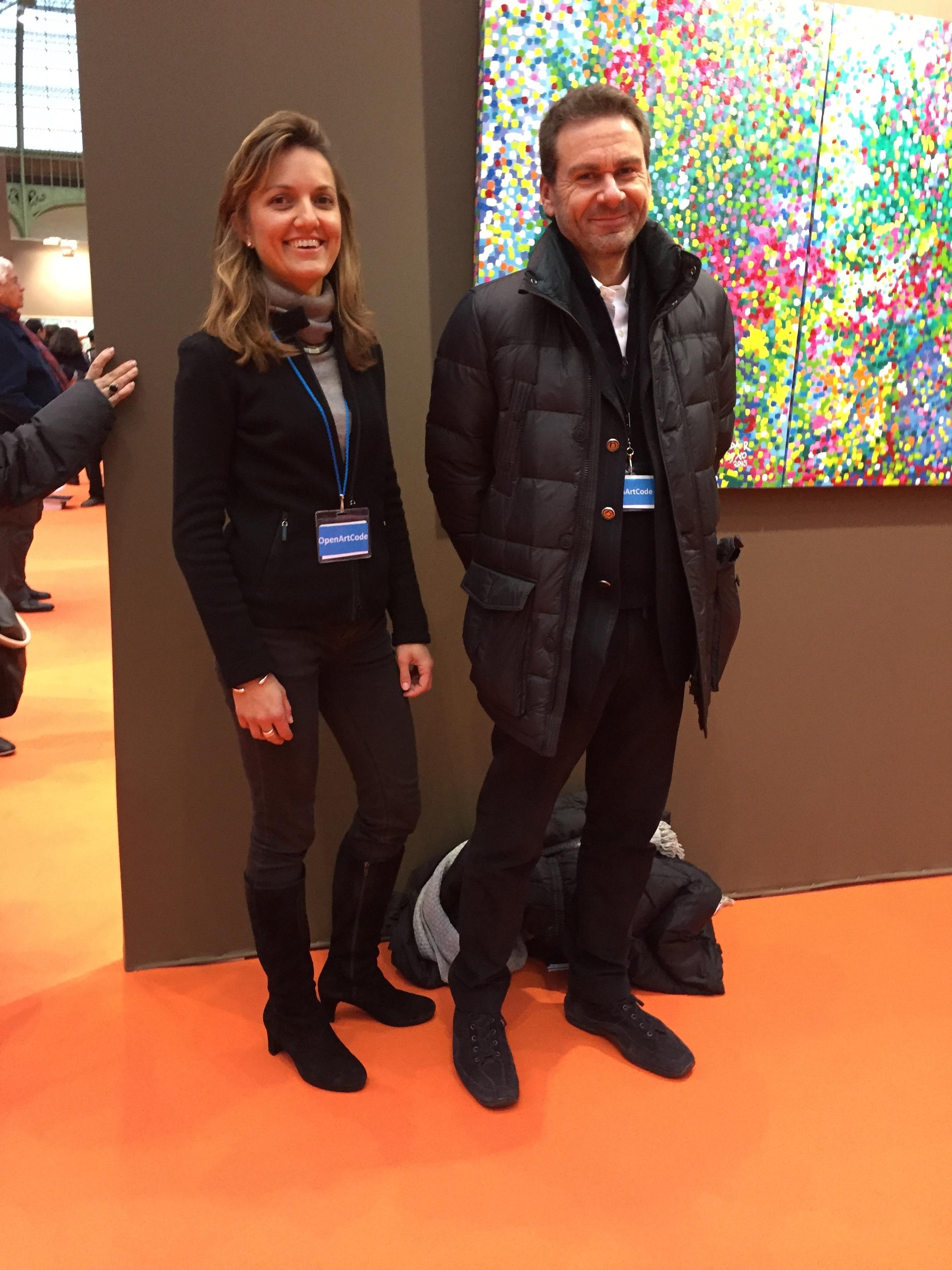 Carlotta Marzaioli and Vito Abba