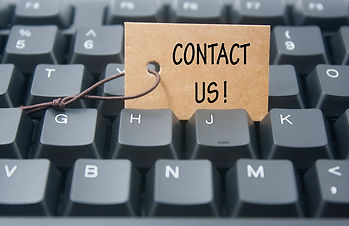 paper tag written contact us over keyboa