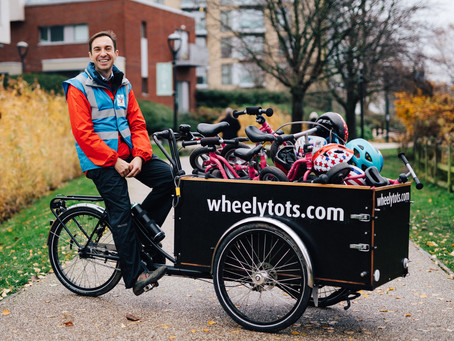 David Pitcher joins Purposely Podcast to share his founder story creating Wheely Tots