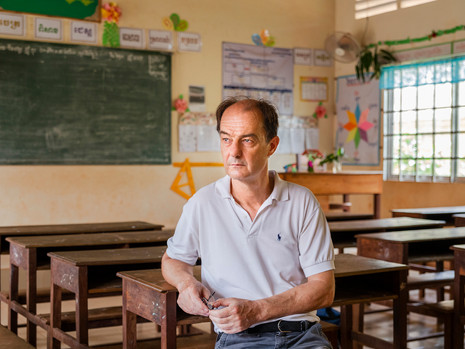 Globalist transforming education in Cambodia, Ed Shuttelworth
