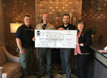 Heritage Law Group Supports Sheriff's Office To Help Sumner County Students